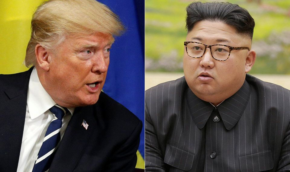 """President Donald Trump's taunts and insults directed at North Korean leader Kim Jong Un""""create..."""