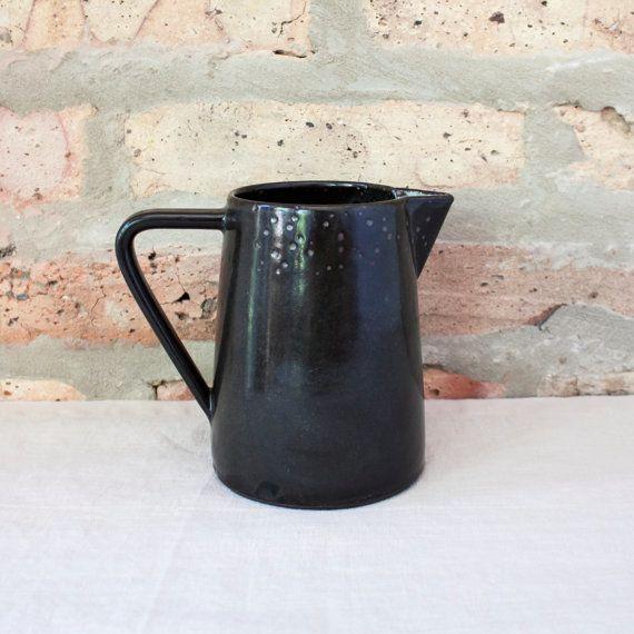 "<a href=""https://www.etsy.com/listing/464504319/matte-black-ceramic-water-jug-by-barombi?ga_order=most_relevant&ga_search"