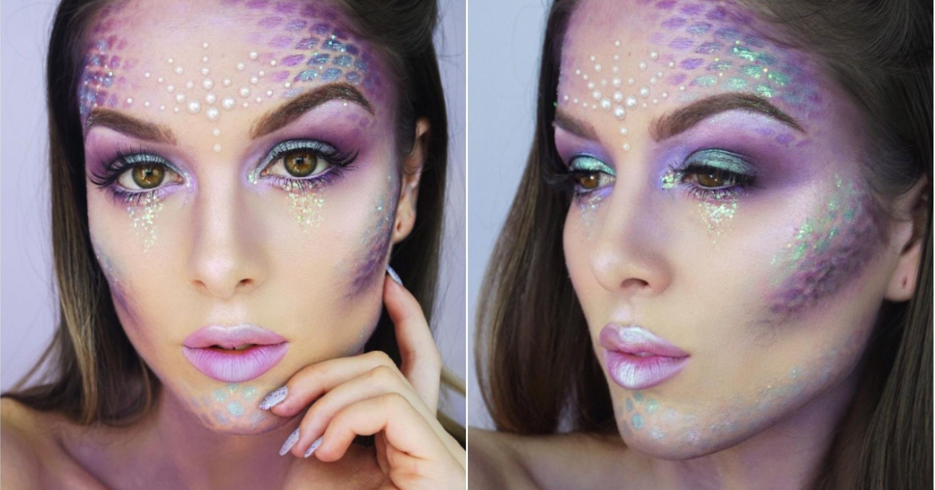 14 easy halloween costumes using makeup and not much else huffpost baditri Image collections