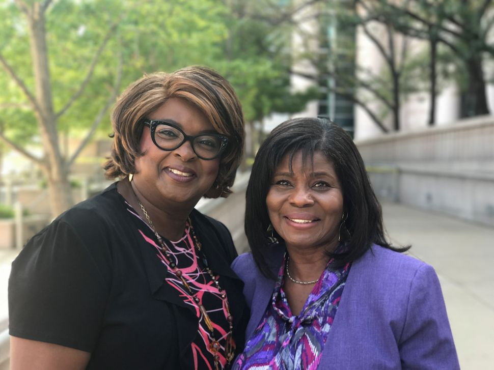 Ella Jones and Laverne Mitchom are both members of the Ferguson City Council.