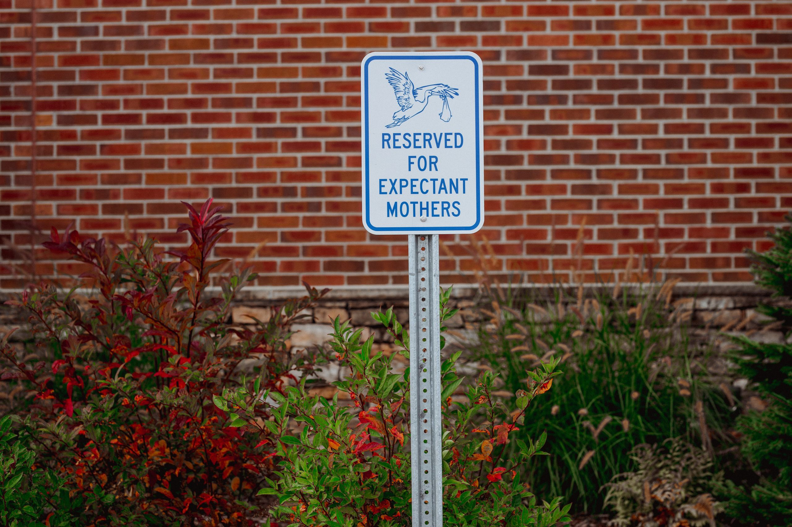 Parking spots are still reserved for expectant moms at Blue Ridge Hospital, but labor-and-delivery services are no longer ava