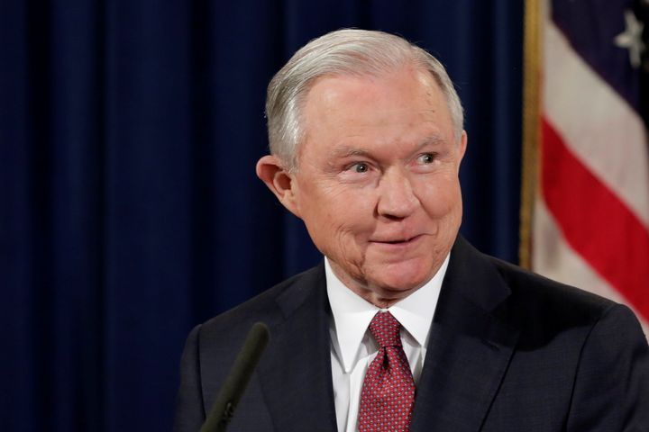 U.S. Attorney General Jeff Sessions speaks at a news conference to address the Deferred Action for Childhood Arrivals (DACA)