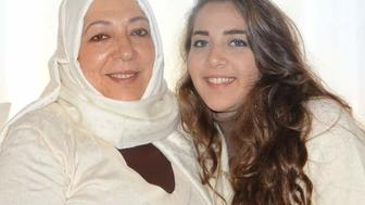 Orouba Barakat and her daughter Halla