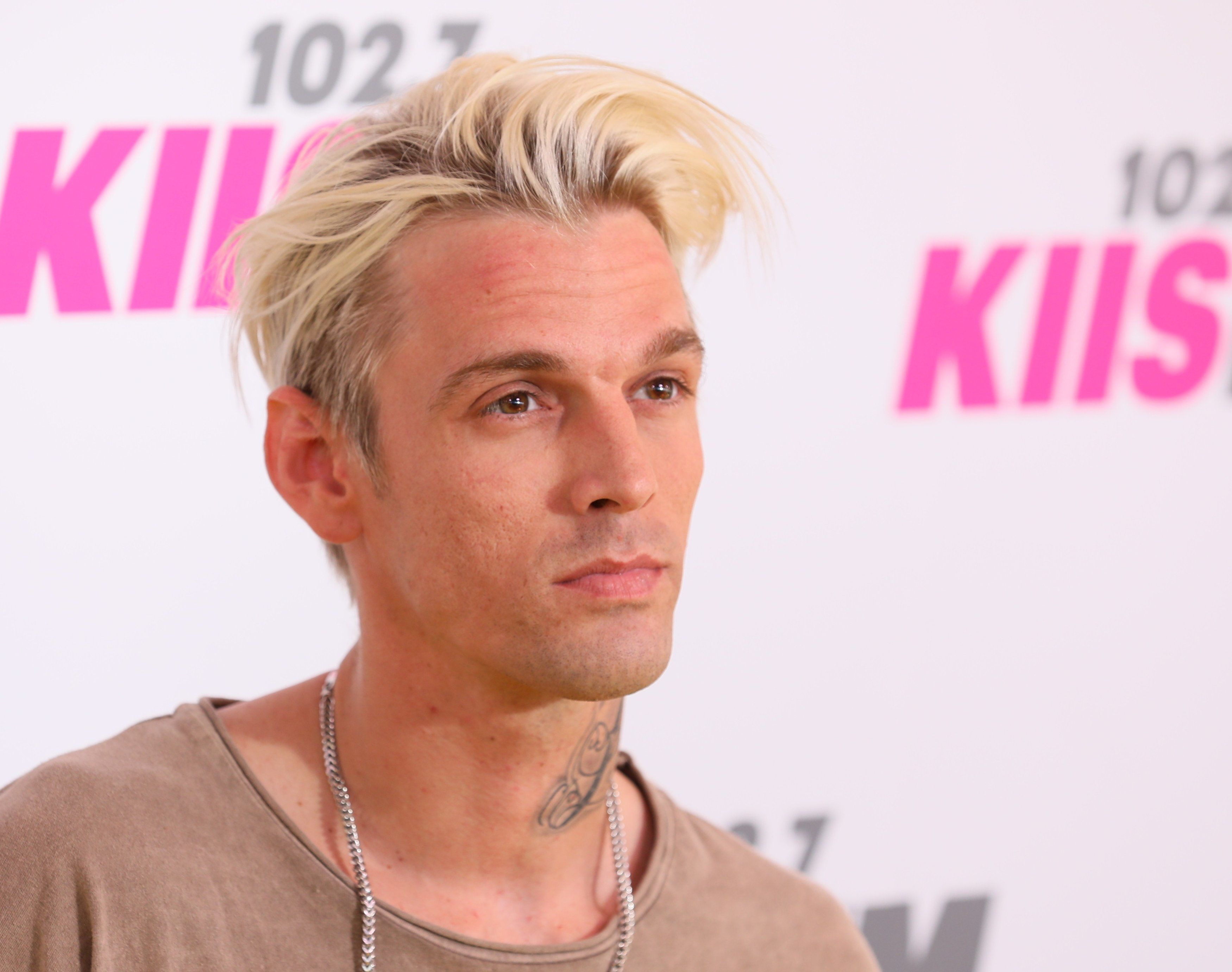 CARSON, CA - MAY 13: Aaron Carter attends the 102.7 KIIS FM's 2017 Wango Tango on May 13, 2017 in Carson, California. (Photo by JB Lacroix/WireImage)