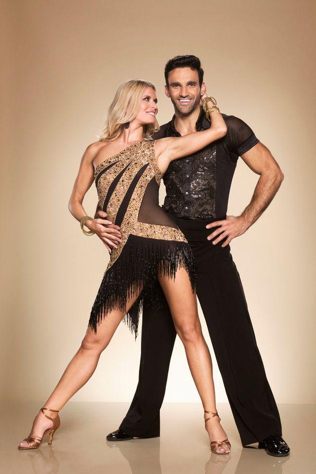 Davoodwith dance partner Nadiya on