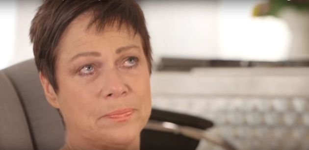 Denise Welch opened up about her mother's death in an emotional
