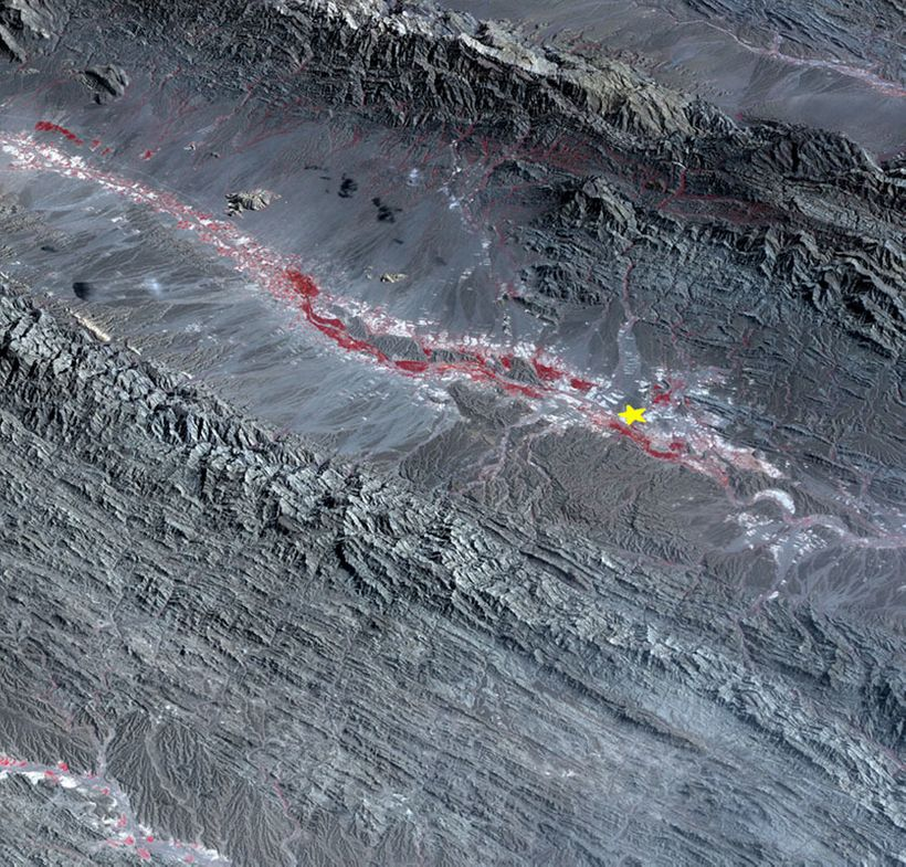 """<em>Space-based satellites can monitor Earth&#39;schanging surface, and map earthquakes, such as the</em> <a rel=""""nofollow"""""""