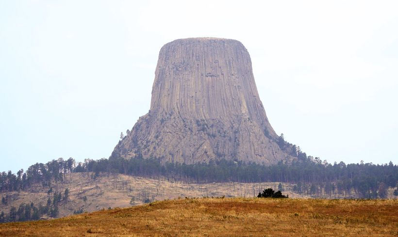 Devils Tower National Monument, Wyoming.