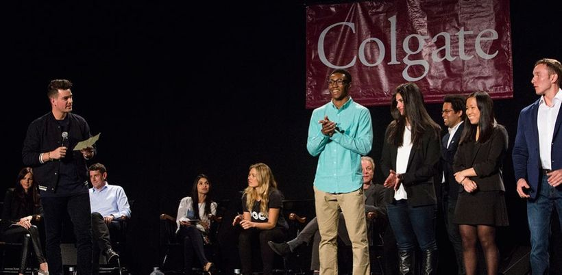 "Ryan Diew at Colgate's E-Weekend ""Shark Tank"""