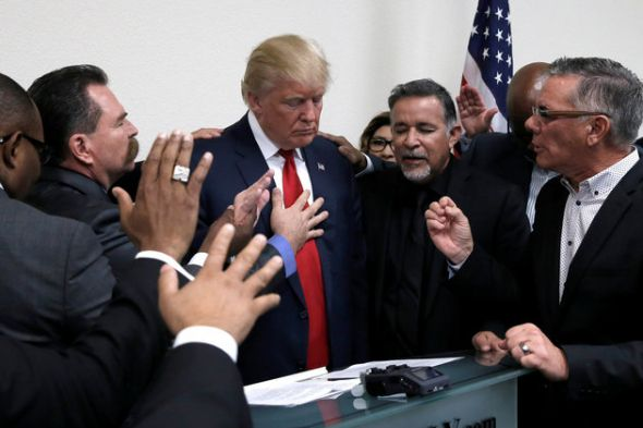 "Donald Trump <a rel=""nofollow"" href=""http://www.christianpost.com/news/trump-evangelical-advisory-board-appointment-recommend"