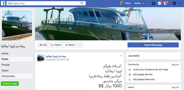 People-Smugglers Are Advertising Their Illegal Businesses On