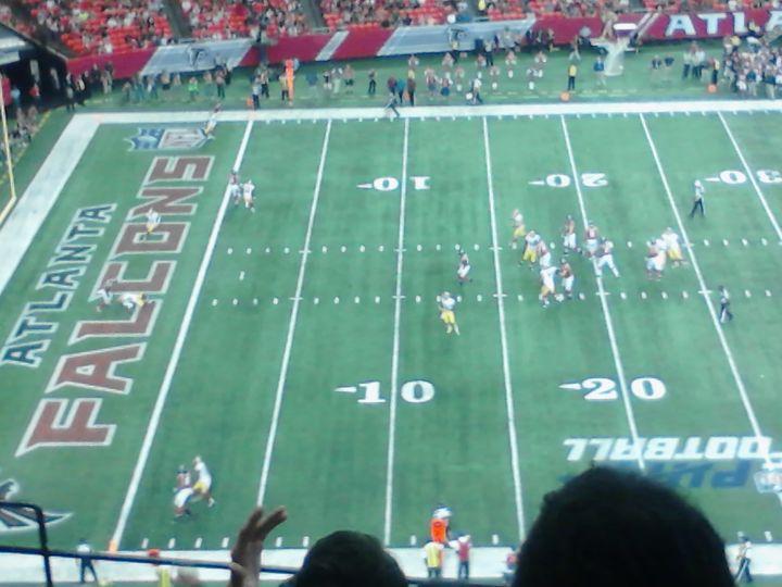 Photo from Atlanta Falcons vs. Washington