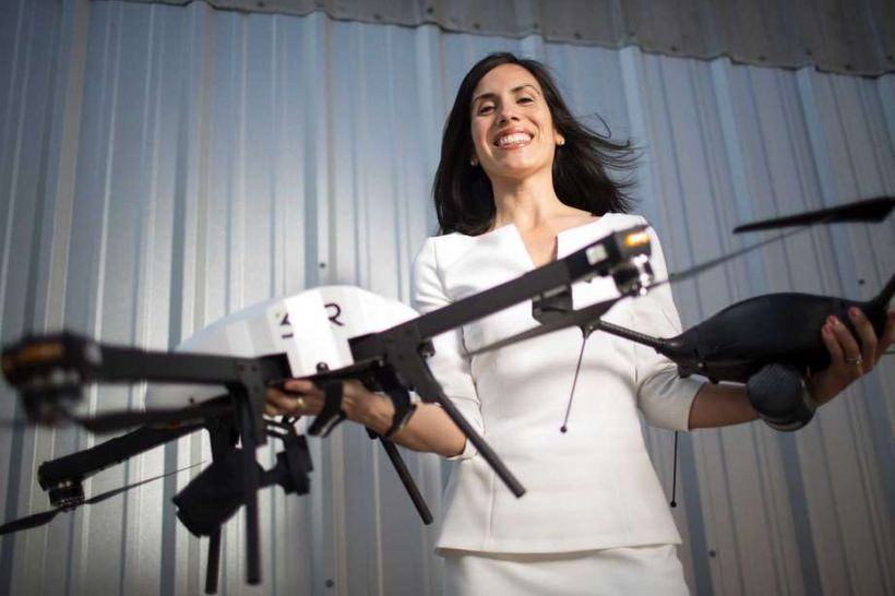 Dyan Gibbens, CEO & Founder, Trumbull Unmanned. A <em>Forbes</em> Top 25 Veteran Founded Company, flies drones to provide