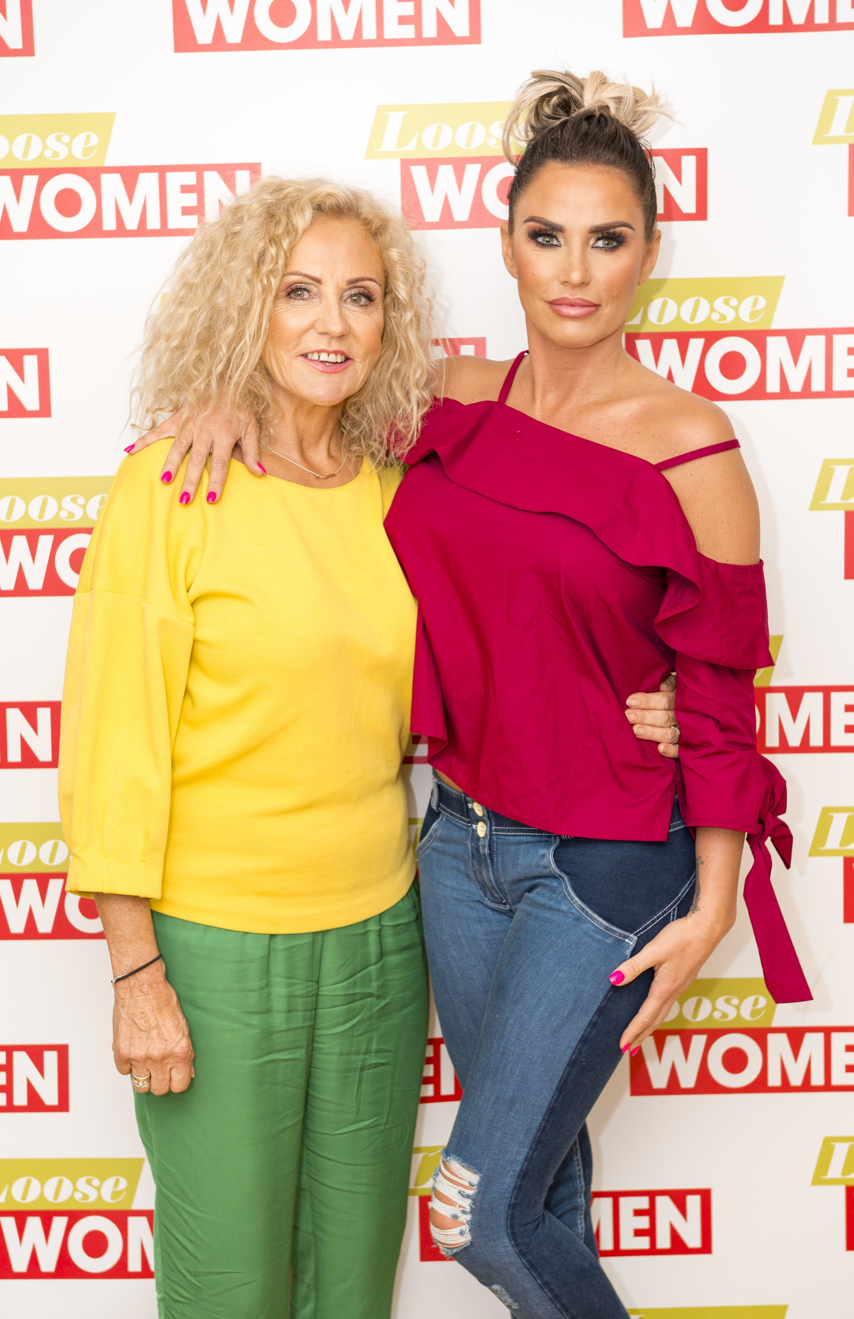 Katie Price Considering Donating A Lung To Her Terminally Ill Mum