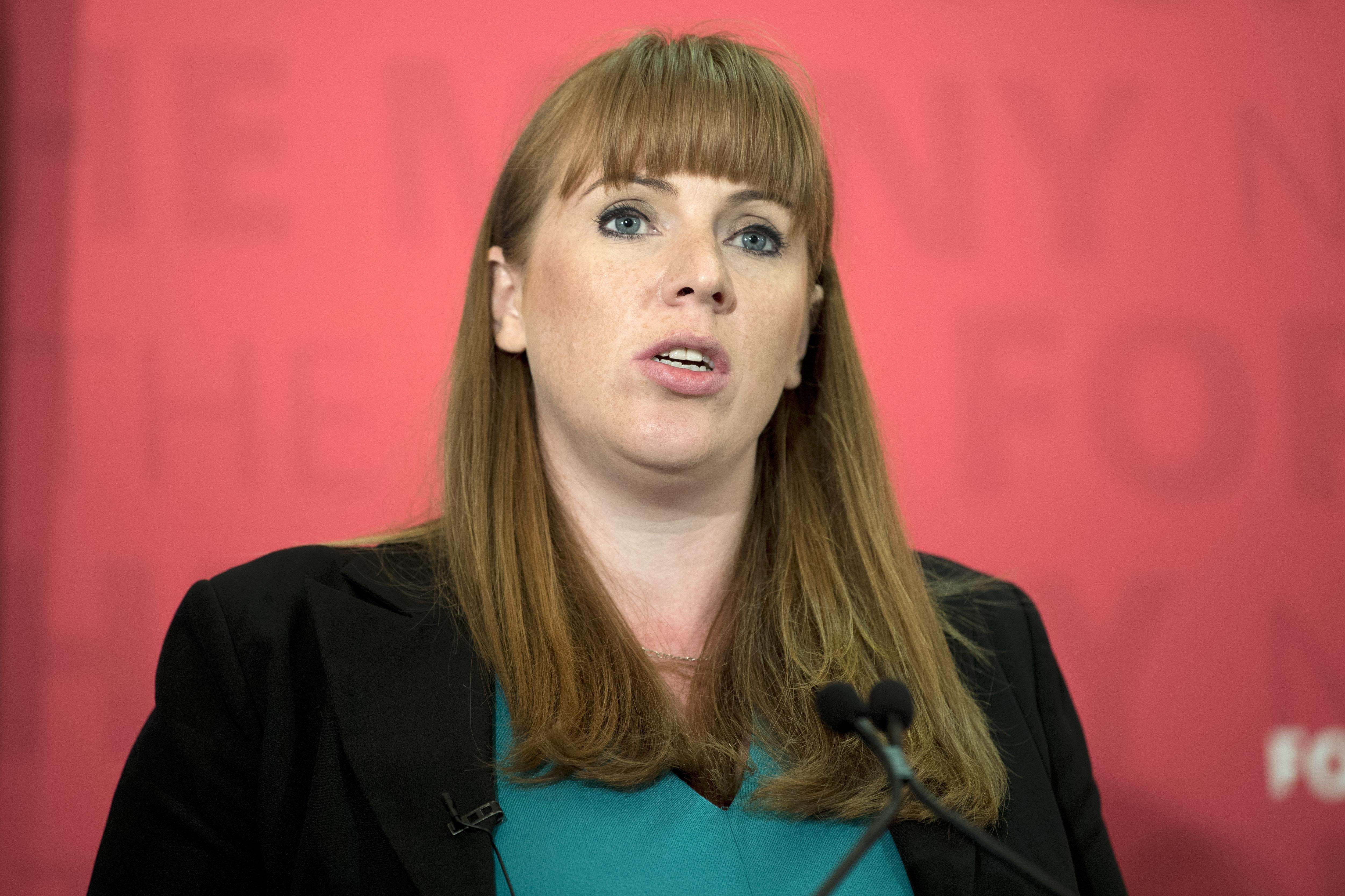 Labour's Angela Rayner: Becoming A Teenage Mum Saved