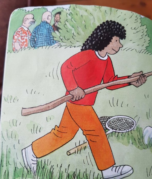 Totally NSFW Scene Spotted In The Background Of This 'Biff, Chip And Kipper' Children's