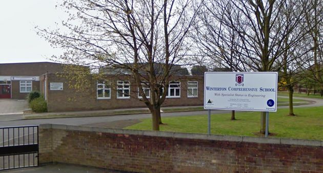 The incident occurred at Winterton Community Academy near