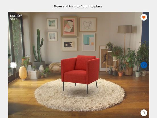 This AR app lets you preview furniture before buying