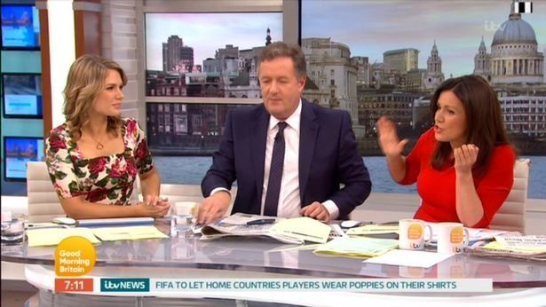 Susanna Reid Gives Piers Morgan A Telling Off Over Crass Meghan Markle And Prince Harry