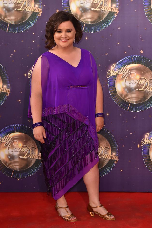Susan Calman has defended her decision to dance with a man on the