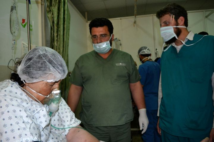Syrians say they have been subject to chemical attacks