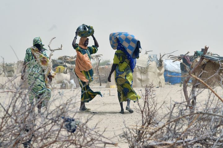 Thousands of people have been displaced by Boko Haram violence