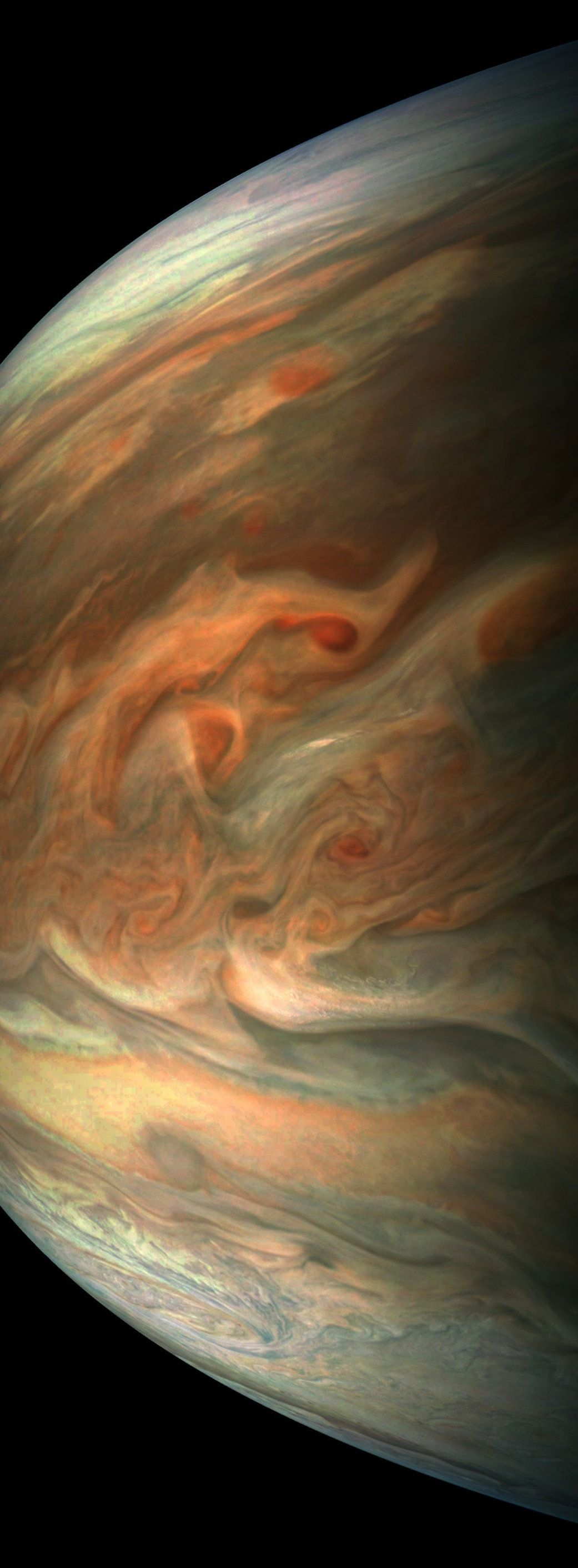 Jupiter Looks Downright Menacing In This Latest Picture From