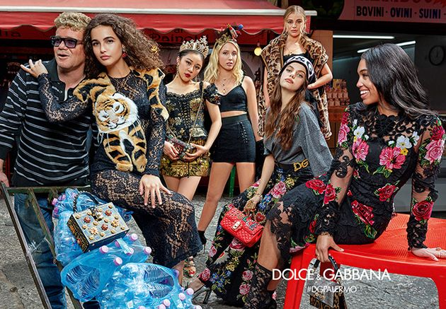 Dolce And Gabbana Stealthily Feature Curve Models In Their Campaigns Like It's The Norm In