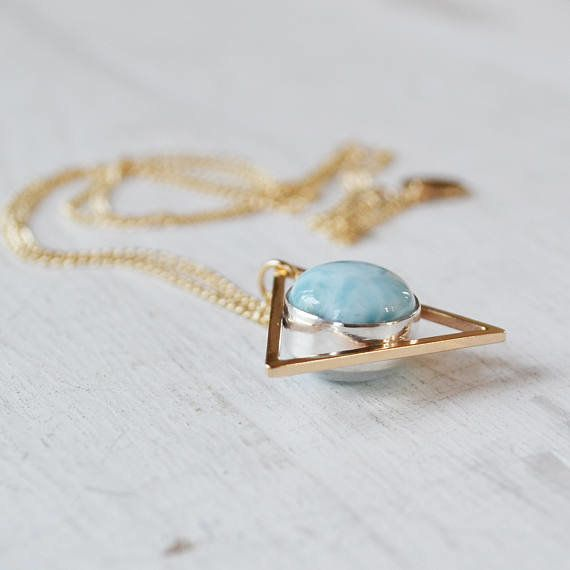 """<a href=""""https://www.etsy.com/listing/286456923/moonstone-and-larimar-two-faced-triangle?ref=finds_hl"""" target=""""_blank"""">Get it"""