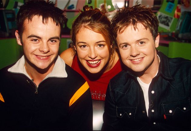 Cat Deely and Ant  Dec