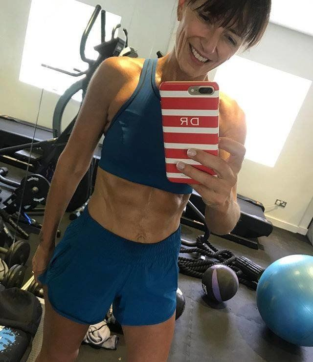 Davina McCall Responds To People Who Criticise Her Fitness