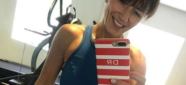 Davina McCall Responds To People Who Criticise Her Fitness Posts