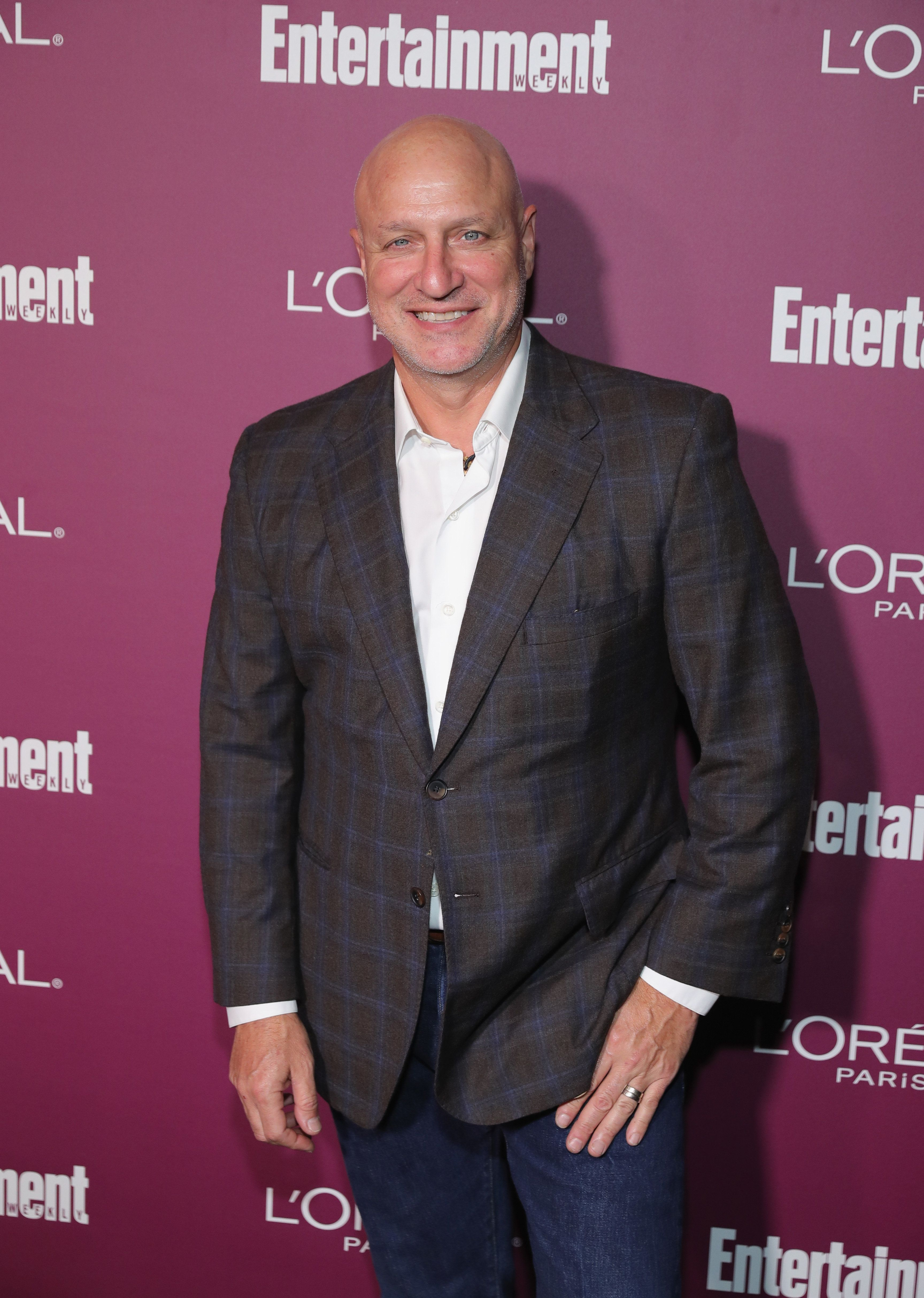 WEST HOLLYWOOD, CA - SEPTEMBER 15: Tom Colicchio attends the 2017 Entertainment Weekly Pre-Emmy Party at Sunset Tower on September 15, 2017 in West Hollywood, California.  (Photo by Neilson Barnard/Getty Images for Entertainment Weekly)