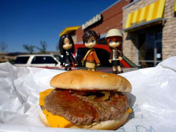 "Someone asked me, ""Is it better than a regular McDonald's cheeseburger?"" And I said, ""Yeah, there's green chile on it."""