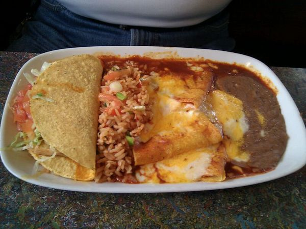 Sometimes you need a taco, an enchilada and a tamale. New Mexico is here for you, bro.