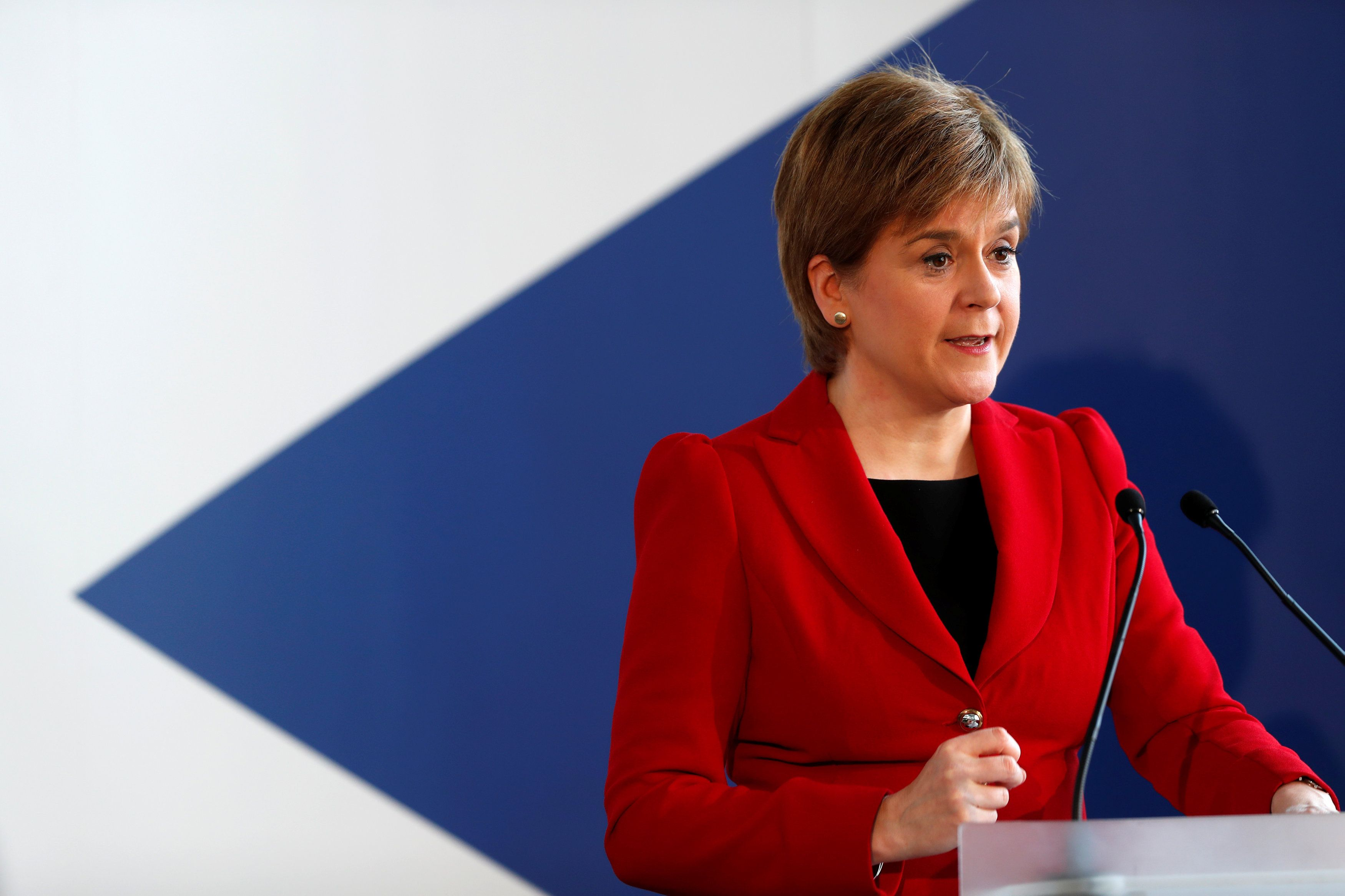 FMQs: Nicola Sturgeon takes aim at Scottish Labour's internal strife