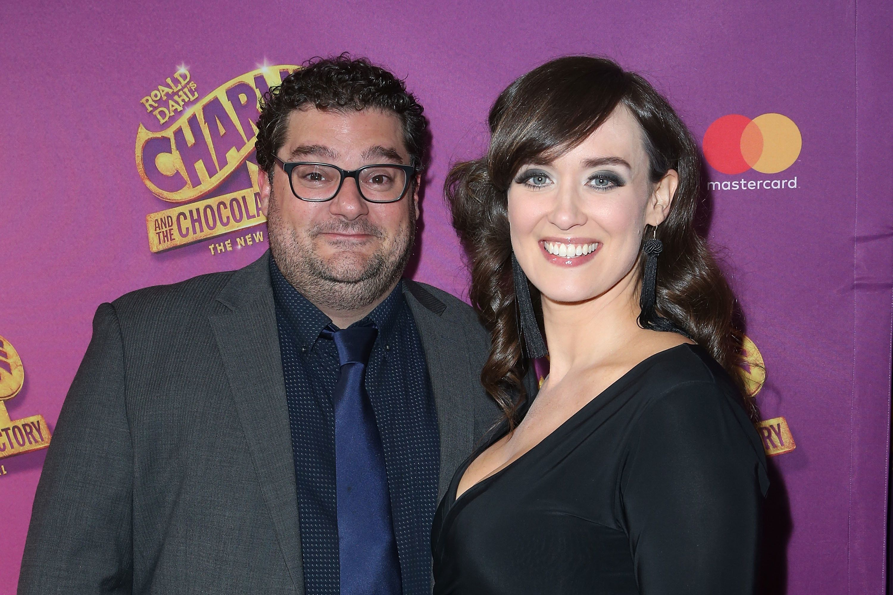 NEW YORK, NY - APRIL 23:  Bobby Moynihan and Brynn O'Malley attend the 'Charlie And The Chocolate Factory' Broadway opening night at at Lunt-Fontanne Theatre on April 23, 2017 in New York City.  (Photo by Jimi Celeste/Patrick McMullan via Getty Images)