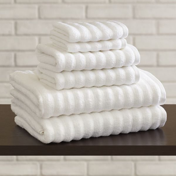 "An easy way to refresh the bathroom is new towels. Get this six-piece set <a href=""https://www.wayfair.com/Brayden-Studio-Bis"