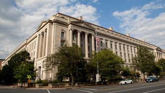 Exterior of the Robert F. Kennedy Department of Justice Building in Washington, D.C.