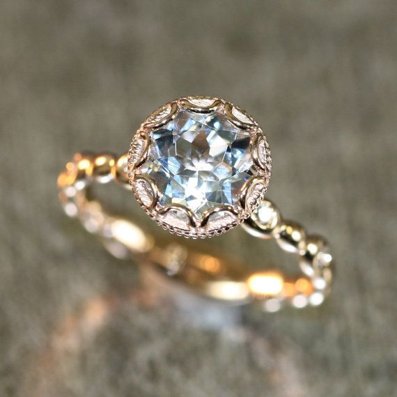 "<i>Buy it from <a href=""https://www.etsy.com/listing/487618217/14k-rose-gold-floral-aquamarine?ga_search_query=vintage&a"