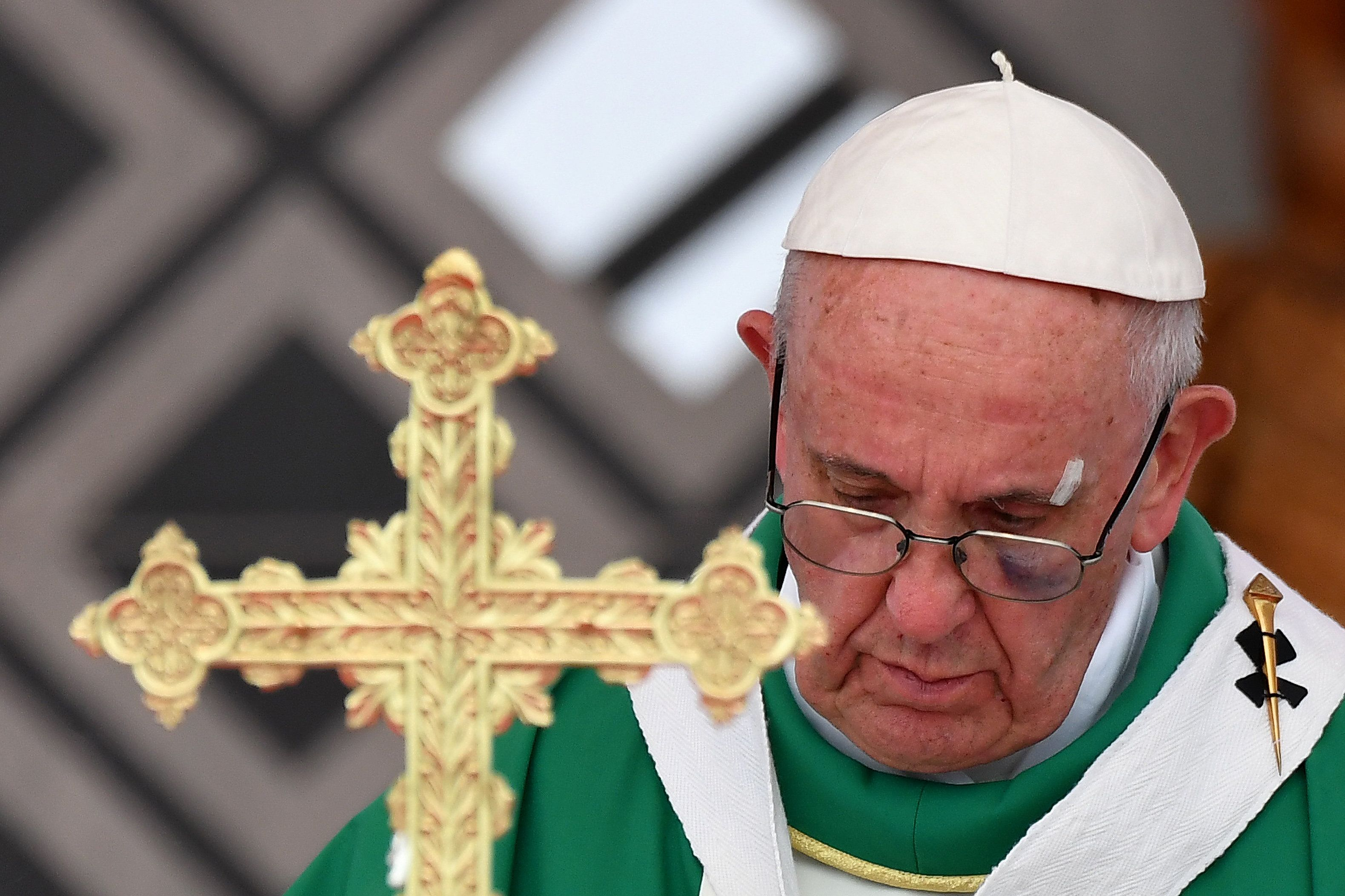 Group accuses Pope Francis of heresy