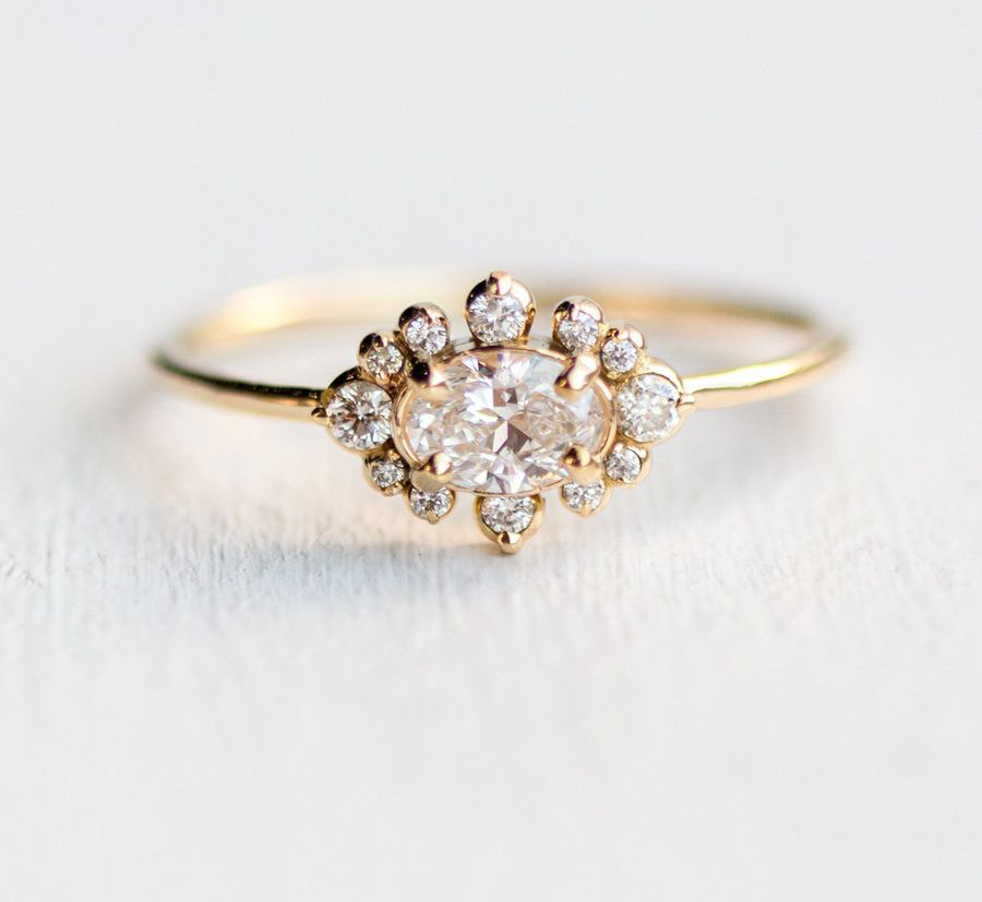 21 Vintage-Inspired Engagement Rings That Will Never Go Out Of Style ... 96bce3e4392b
