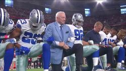 America's Team Kneels: Dallas Cowboys Owner Joins Players In