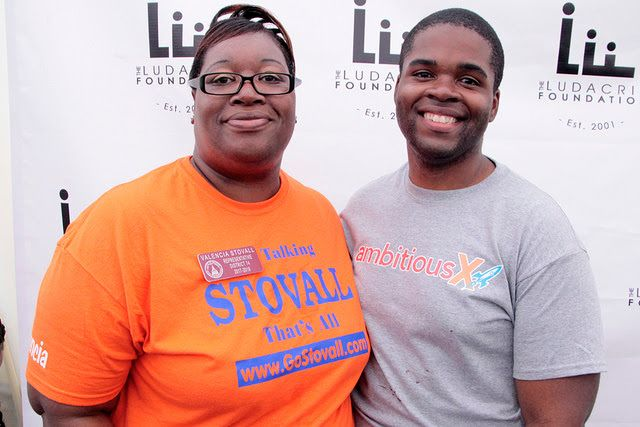 Rep. Valencia Stovall and Wesley Daniel (Ambitious X)