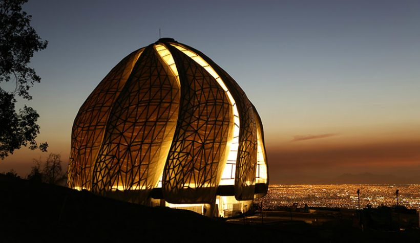Baha'i House of Worship in Santiago, Chile