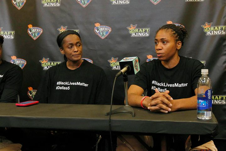 Athletes of New York Liberty discuss police brutality and their decision to use their platform to promote progress
