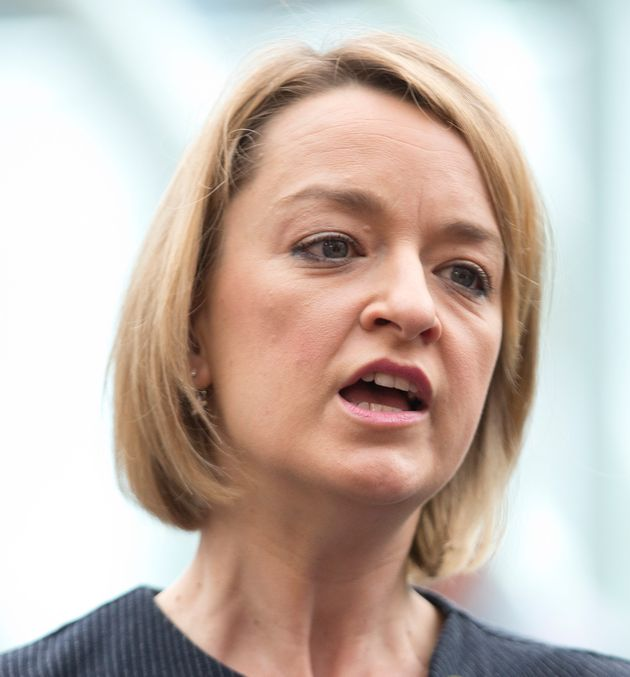 BBC Political Editor Laura Kuenssberg needs two bodyguards to cover the Labour Party conference in Brighton...