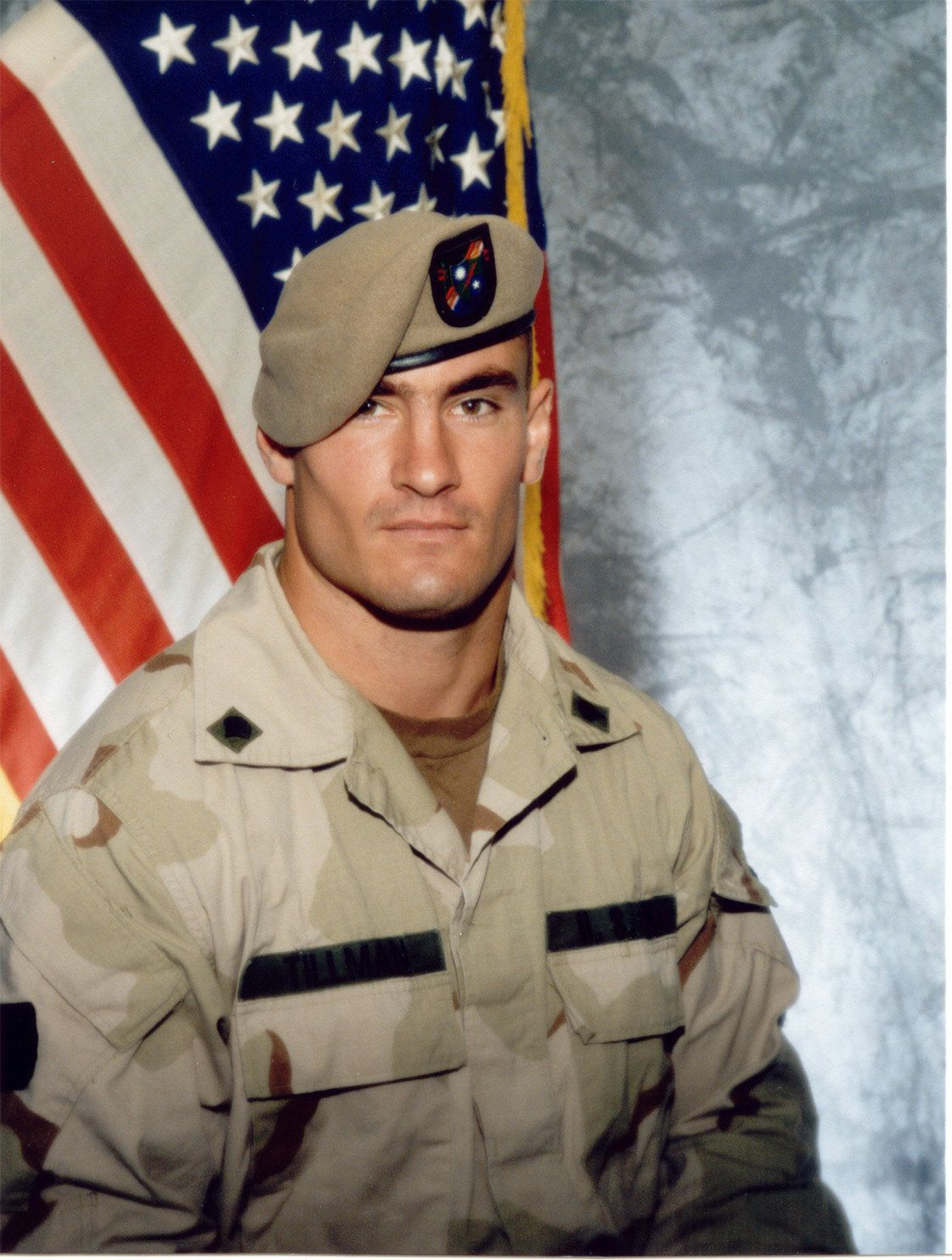 Pat Tillman was killed in combat in 2004.
