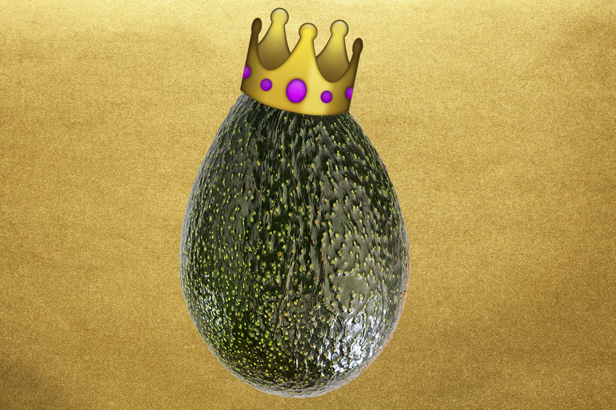 'Rare Gold-Flecked' Avocado Is Here To Give Your Brunch A Royal