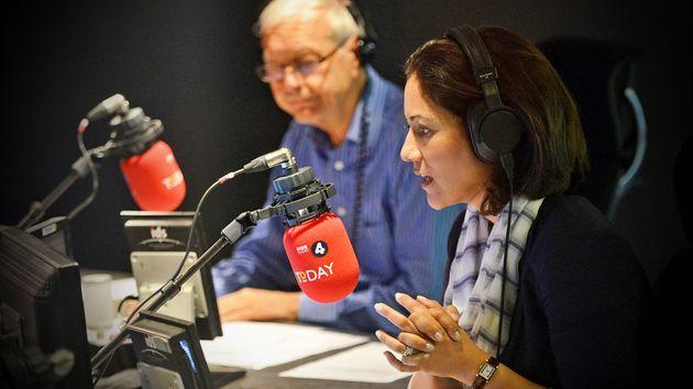 BBC Radio 4 Today programme presenters John Humphys and Mishal